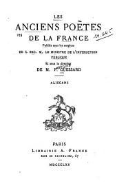 Aliscans: chanson de geste, pub. d'apres̀ le manuscrit de la Bibliotheq̀ue de l'Arsenal et à l'aide de cinq autres manuscrits, Volume10