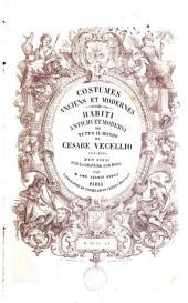 Costumes anciens et modernes anciens: habiti antichi et moderni di tutto il mondo