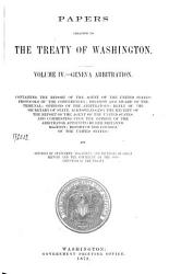 Papers Relating To The Treaty Of Washington Book PDF