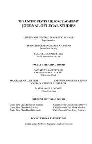 Journal of Legal Studies PDF