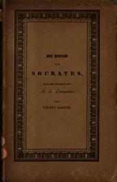 De dood van Socrates: een dichtstuk van A. de Lamartine