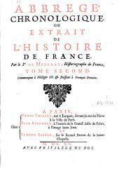 Abrégé chronologique ou extrait de l'histoire de France: Volume2