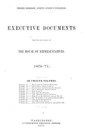 House Documents: Volume 6; Volume 266