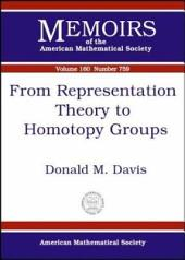 From Representation Theory to Homotopy Groups: Issue 759