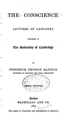 The Conscience   Lectures on Casuistry PDF