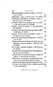 Annales du Musée et de l'École moderne des beaux-arts: Salon de 1810
