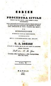 Codice di procedura civile spiegato dai suoi motivi, dagli esempi e dalla giurisprudenza colla soluzione sotto ciascun articolo ... di G. A. Rogron: 2, Volume 1