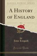 A History of England, Vol. 3 (Classic Reprint)