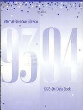 Internal Revenue Service data book