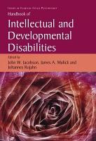 Handbook of Intellectual and Developmental Disabilities PDF