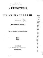 De anima, libri iii