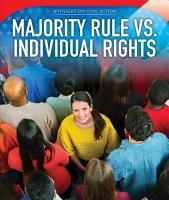 Majority Rule vs  Individual Rights PDF