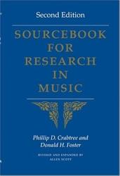 Sourcebook For Research In Music Book PDF