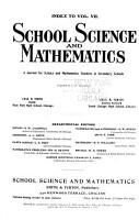 School Science and Mathematics PDF