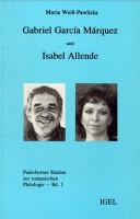 Gabriel Garc  a M  rquez und Isabel Allende PDF
