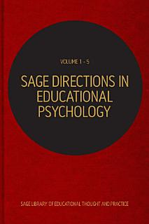 SAGE Directions in Educational Psychology Book