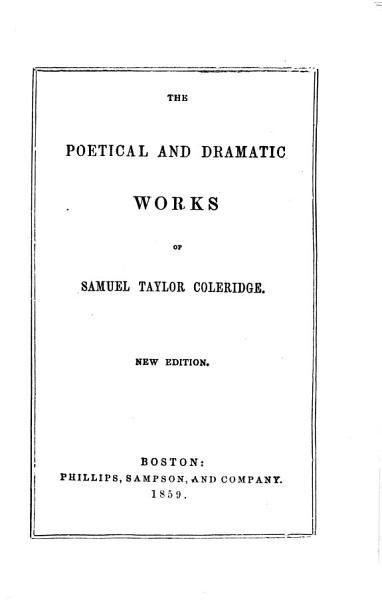 Download The Poetical and Dramatic Works Book