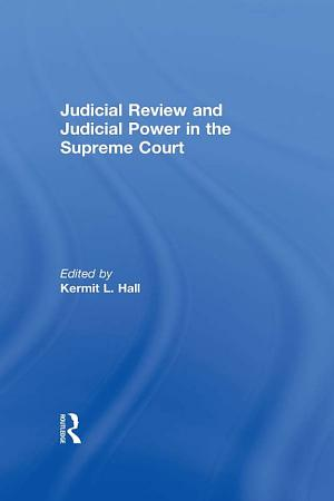 Judicial Review and Judicial Power in the Supreme Court PDF