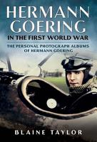 Hermann Goering in the First World War PDF