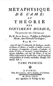 Métaphysique de l'âme ou Théorie des sentiments moraux: Volume1
