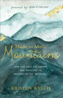Made to Move Mountains PDF