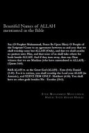 Beautiful Names of Allah Mentioned in the Bible PDF