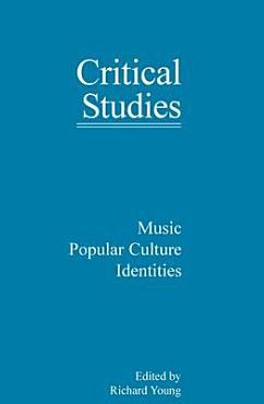 Music  Popular Culture  Identities PDF