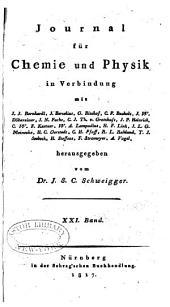 Journal für Chemie und Physik: Band 21