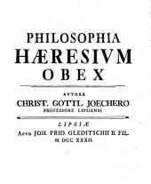 Philosophia Haeresium Obex