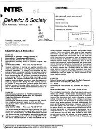 Behavior   Society PDF