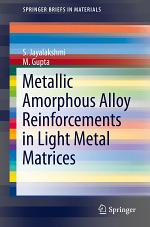 Metallic Amorphous Alloy Reinforcements in Light Metal Matrices