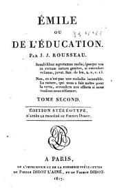 Émile: ou, De l'éducation