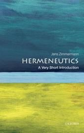 Hermeneutics: A Very Short Introduction