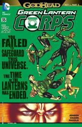 Green Lantern Corps (2011-) #35