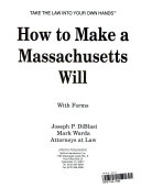 How to Make a Massachusetts Will