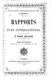 Rapports du Jury international: Volume 4