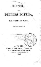 Histoire des peuples d'Italie: Volume1