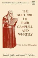 The Rhetoric of Blair  Campbell  and Whately PDF