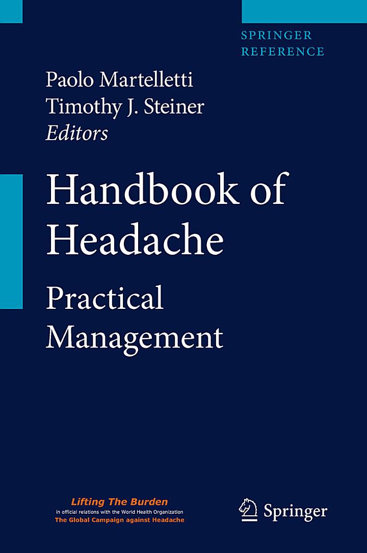 Handbook of Headache