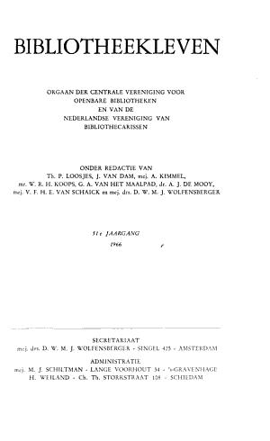 Bibliotheekleven PDF