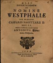 De nomine Westphaliae