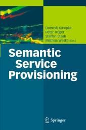 Semantic Service Provisioning