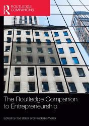 The Routledge Companion to Entrepreneurship PDF