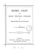 Home chat with our young folks PDF