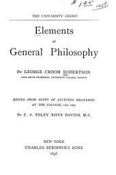 Elements of General Philosophy