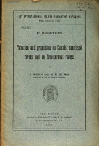 Traction and Propulsions on Canals  Canalised Rivers and on Free current Rivers PDF