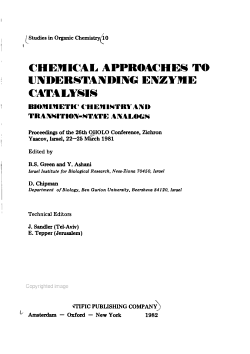 Chemical Approaches to Understanding Enzyme Catalysis PDF