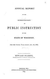 Biennial Report - State of Wisconsin Department of Public Instruction