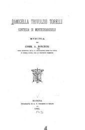 Damigella Trivulzio Torelli, Contessa di Montechiarugolo