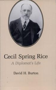 Cecil Spring Rice Book
